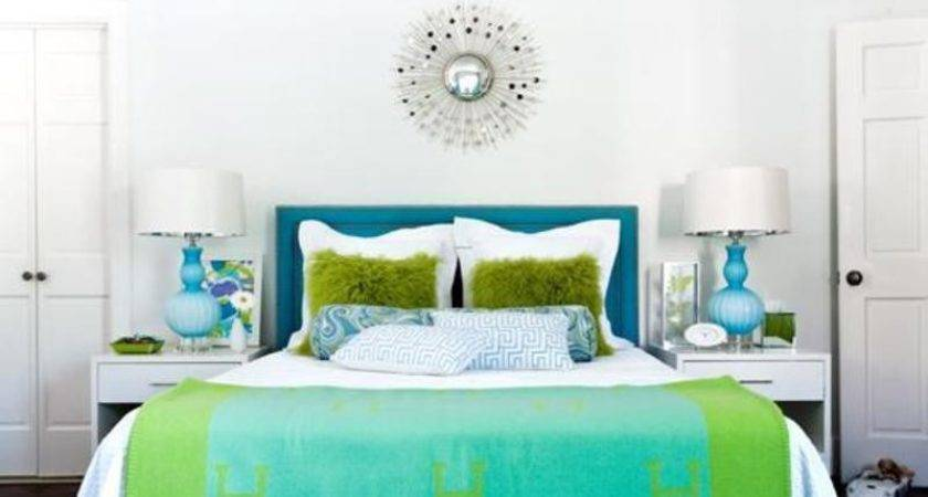 Blue Green Bedroom Design Ideas Bookmark