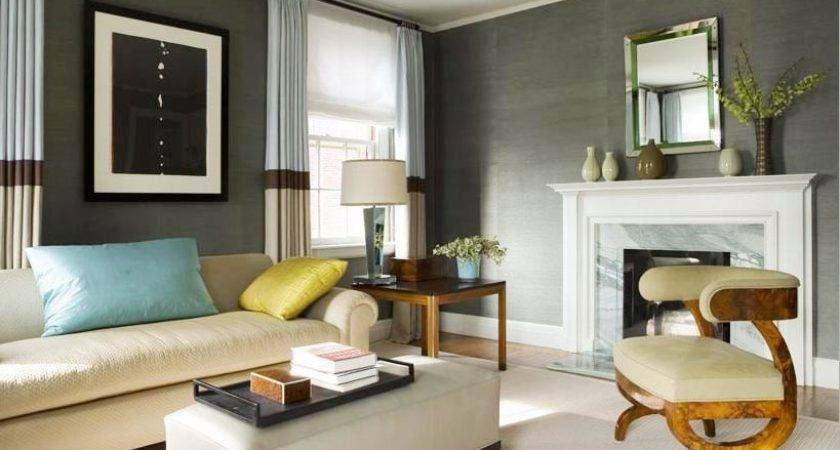 Blue Grey Colored Rooms Interior Decorating Accessories
