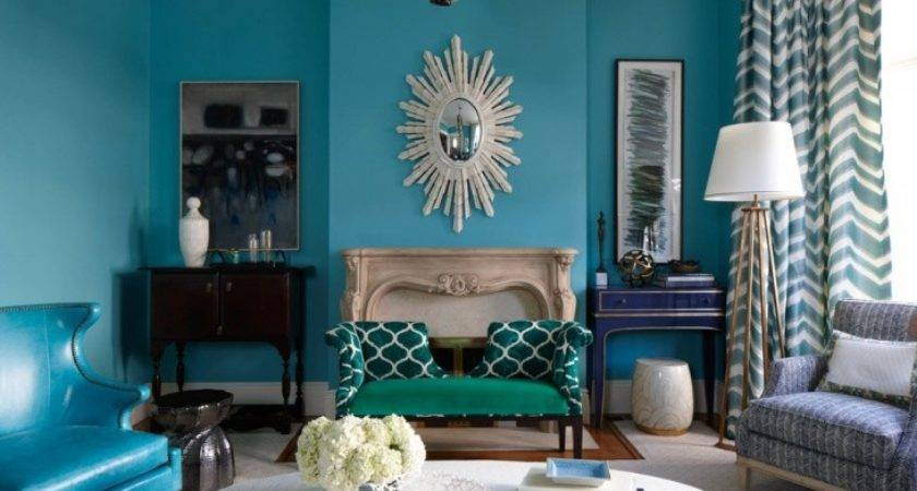Blue Living Room Designs Decorating Ideas Design