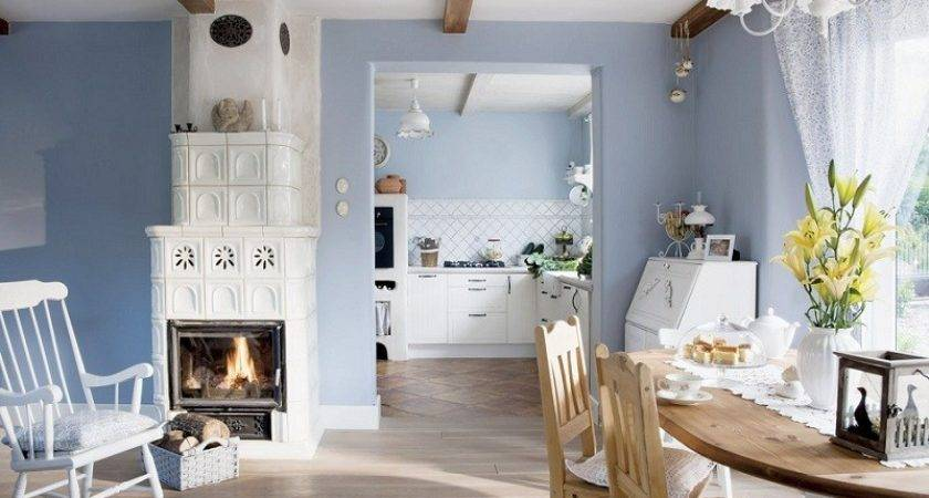 Blue White Country Home Poland Interior Design Files
