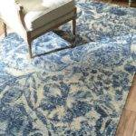 Blue White Rug Choose