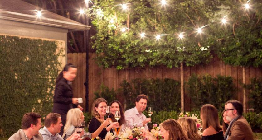 Bohemian Backyard Dinner Party Camille Styles