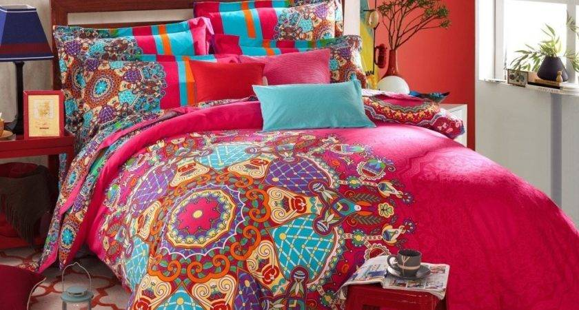 Bohemian Style Bedding Sets Spillo Caves