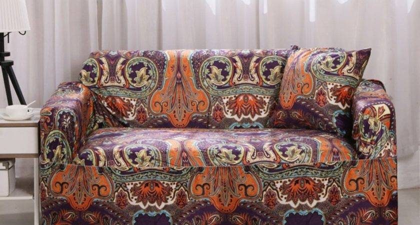 Boho Sofa Clic Style Square Cushion Cover Cotton