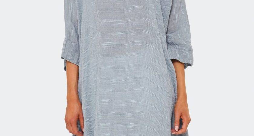 Bottega Brunella Casacca Linen Tunic Top Jules