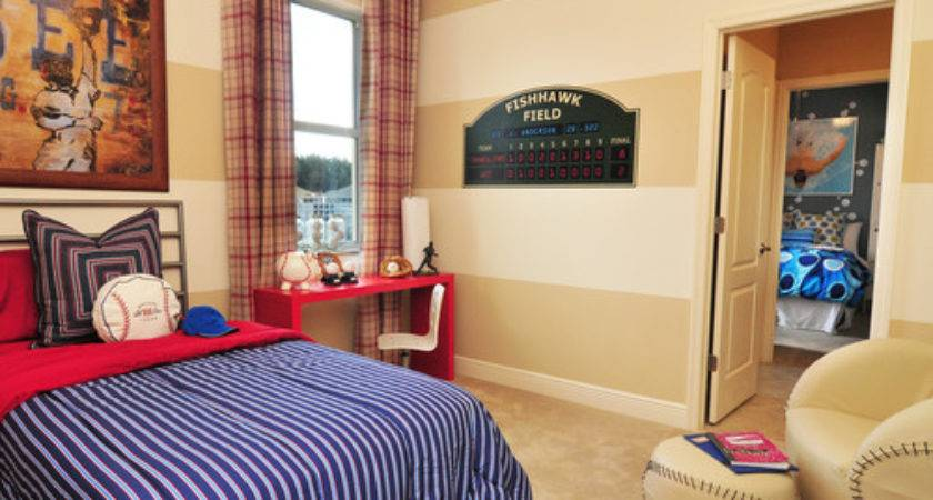 Boys Baseball Theme Rooms Design Dazzle
