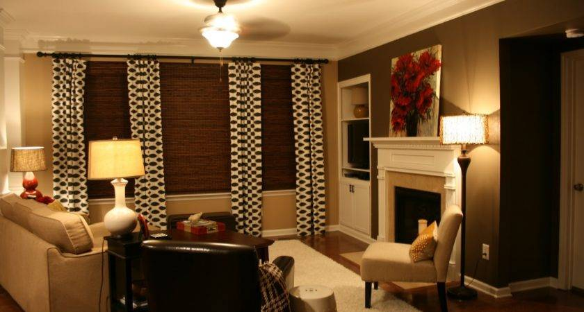 Bozeman Bungalow Living Room Accent Wall Done