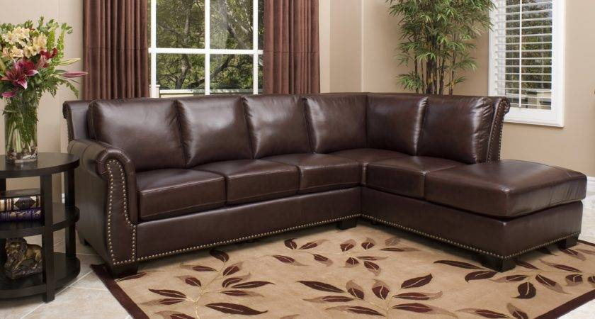 Brand New Leather Sectional Sofa Couch Living Room
