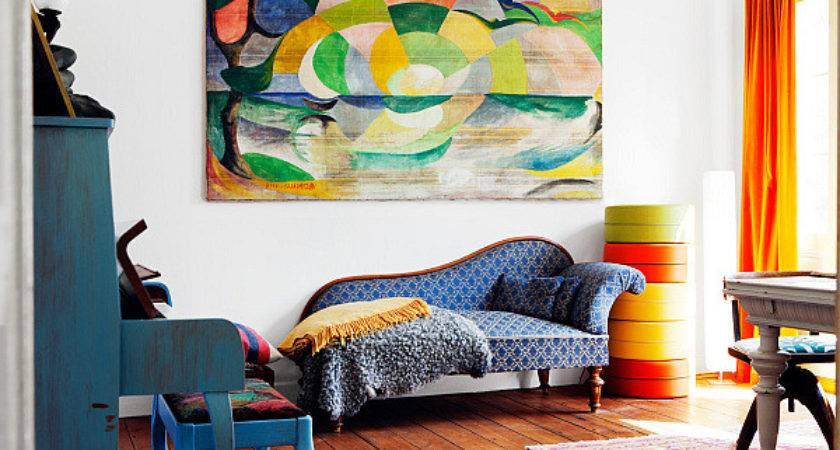 Bright Area Rugs Add Pop Color