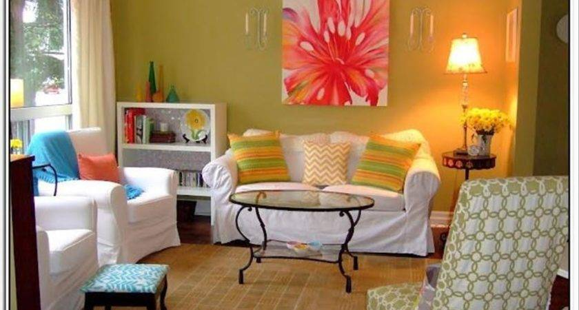 Bright Paint Colors Living Room