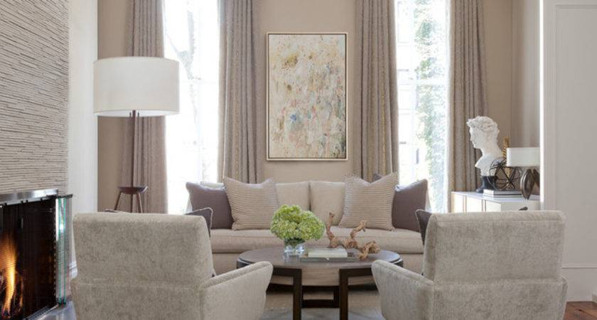 Brooklyn Brownstone Transitional Living Room New
