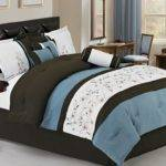 Brown Bedding Sets Queen Home Vines Piece Comforter