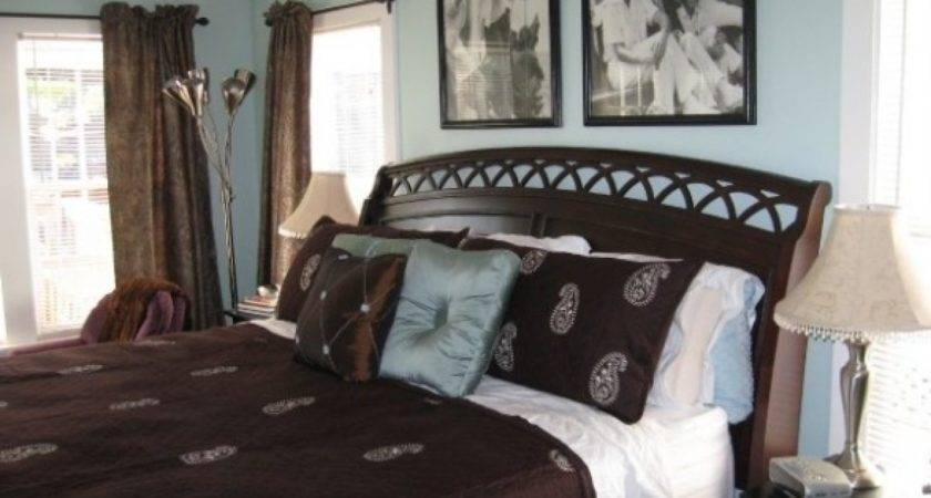Brown Blue Bedroom Decorating Ideas