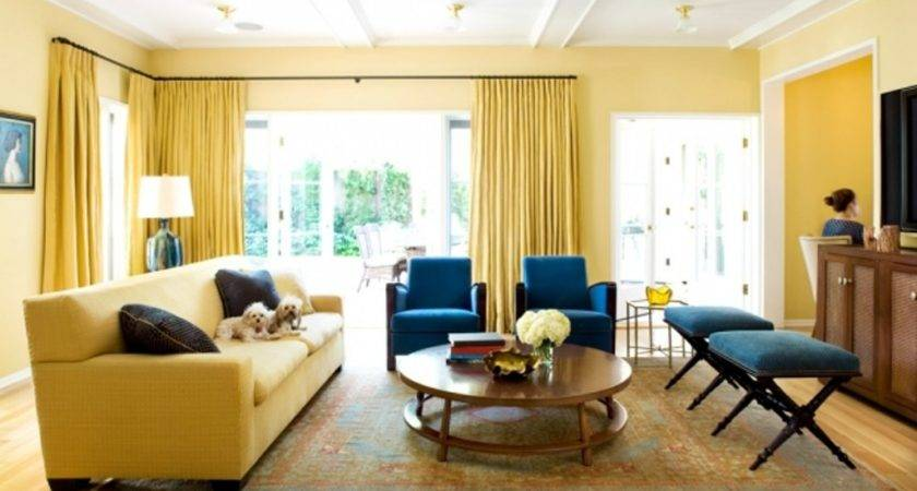 Brown Blue Yellow Living Room Ideas Roselawnlutheran