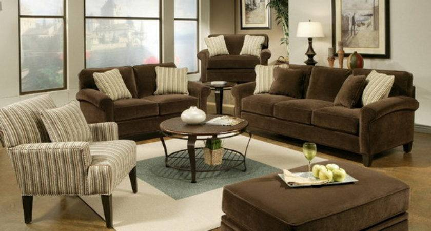 Brown Couch Living Room Design Home Garden