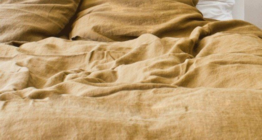 Brown Linen Duvet Cover Sweetgalas