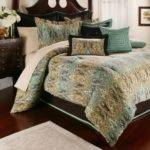 Brown Teal Bedding Color Scheme Like