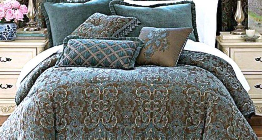 Brown Teal Bedding Decorate House