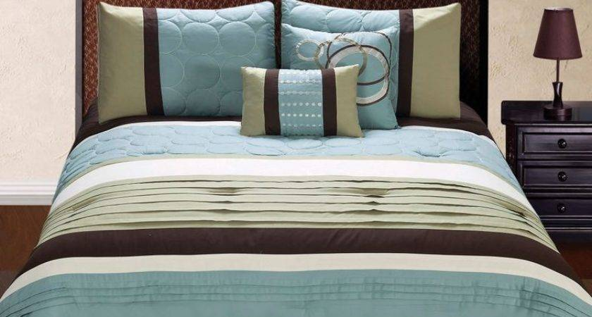 Brown Teal Bedding Sets Decorate House