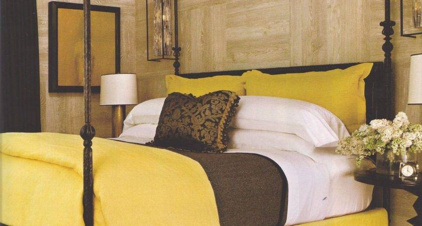 Brown Yellow Bedroom Ideas Home Design Decorating