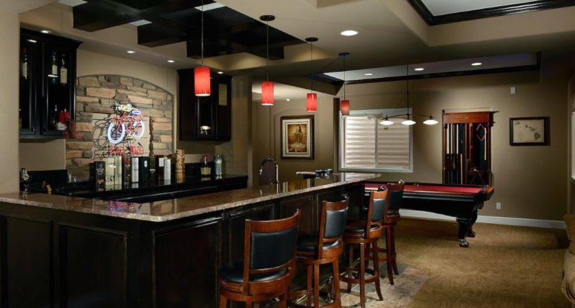 Build Basement Bar Kitchen Cabinets Home