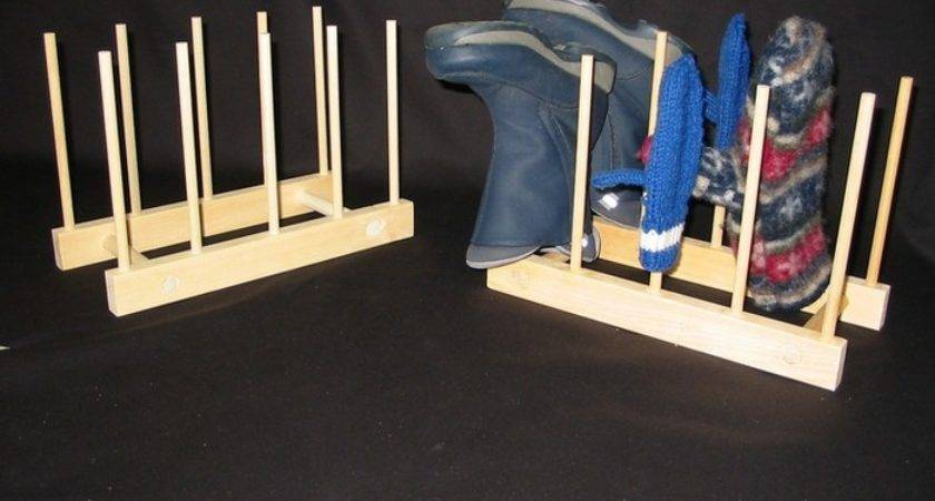 Build Your Own Customized Boot Rack Projects Obn