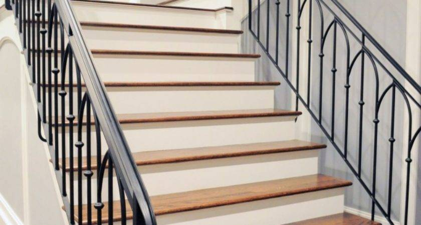 Builders Show Wrought Iron Stair Railings Process