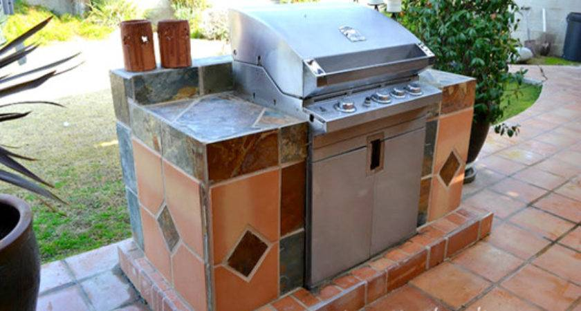 Built Barbeque Grill