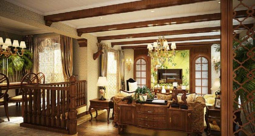 Bungalow Style Homes Interior Country Room Ideas Home