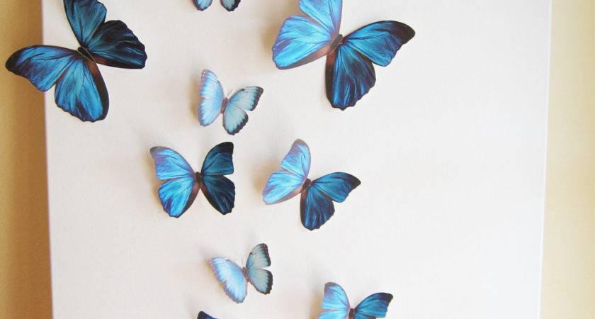 Butterflies Blue Something Butterfly Simplychiclily