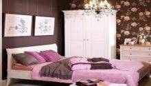 Captivating Simple Pink Brown Bedroom Decorating Ideas
