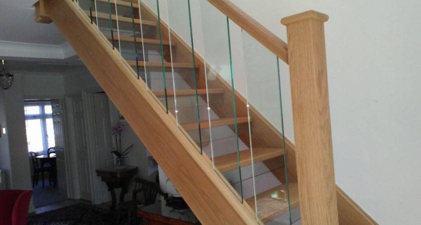 Case Study New Glass Spindle Oak Staircase Guilford