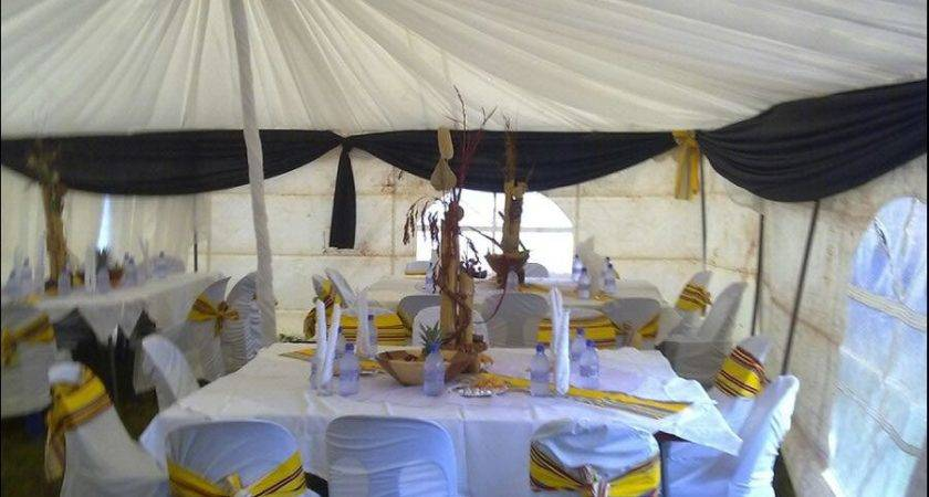 Catering Decor Outdoor Tent Decoration