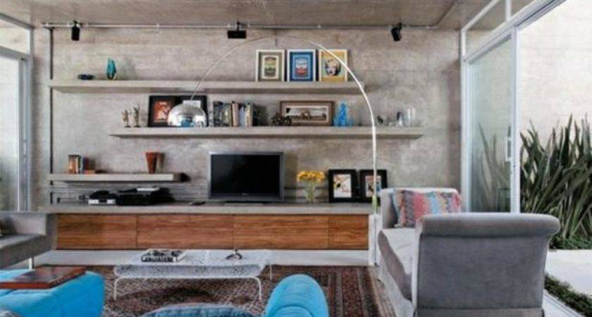 Cement Showcase Designs Living Room Centerfieldbar