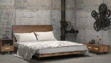 Charcoal Decores Industrial Bedroom