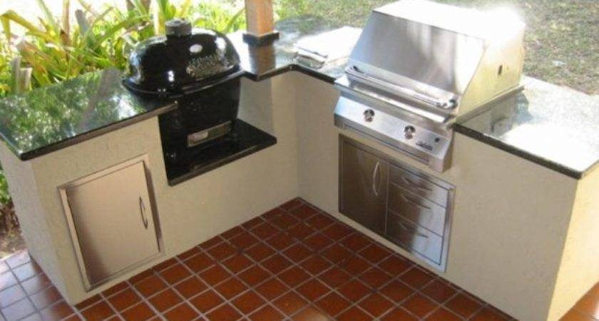 Charcoal Grill Outdoor Kitchen Your Bungalow