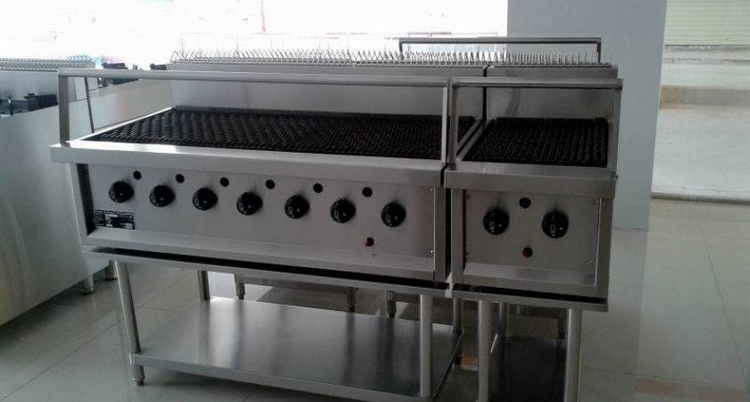 Charcoal Restaurant Grill Equipment Home Decoration Plan