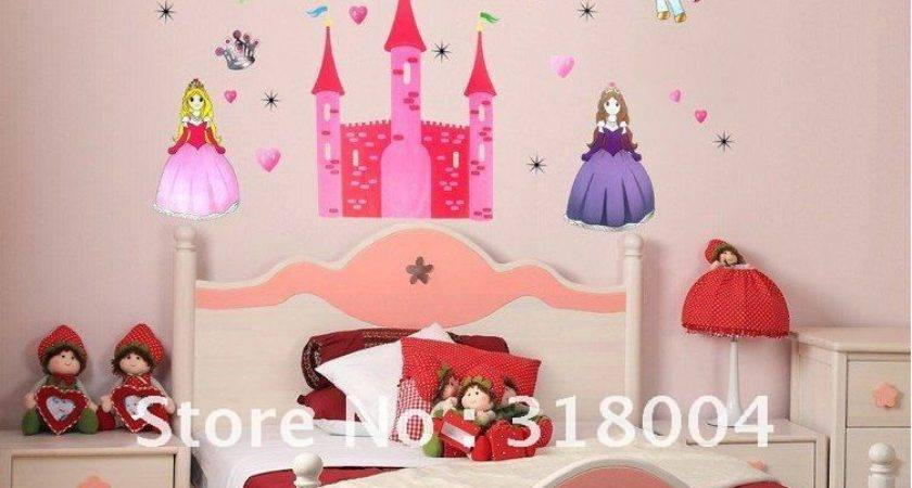 Charming Childrens Bedroom Wall Decor Space Themed Room