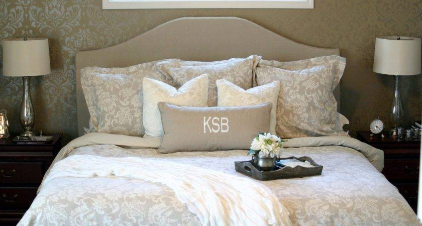 Chic Shoestring Decorating Neutral Master Bedroom Reveal