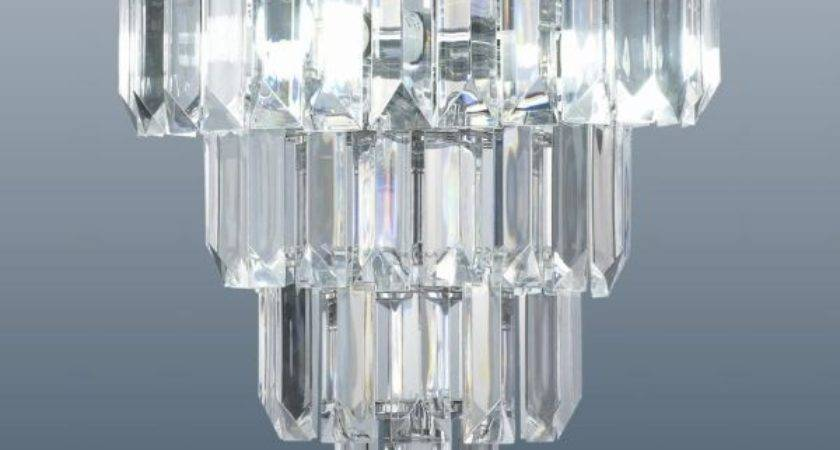 Chichester Polished Chrome Acrylic Light Fitting