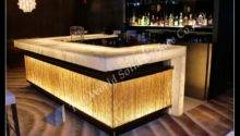 China Artificial Stone Solid Surface Bar Counter