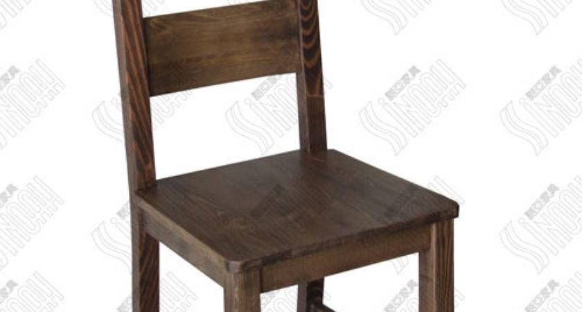 China Wooden Chair Distressed Pine
