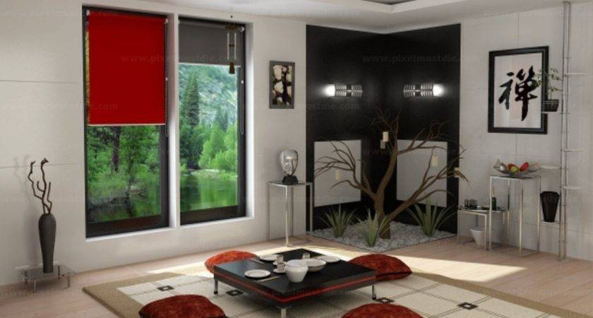 Chinese Traditional Living Room Interior Design