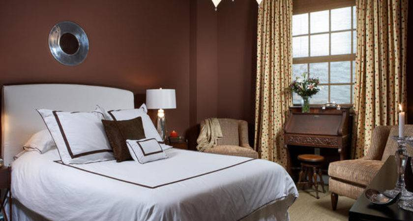 Chocolate Brown Accents Transitional Bedroom Hgtv