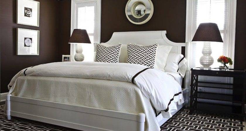 Chocolate Brown Bedroom Transitional Ralph
