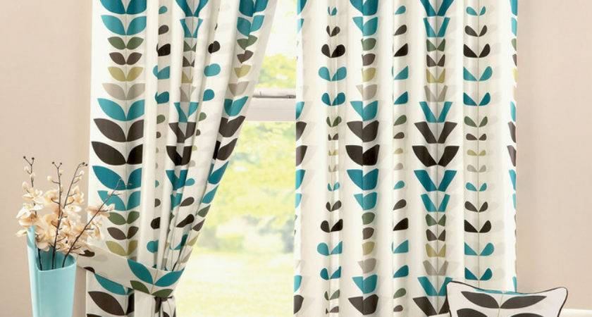 Chocolate Teal Curtains Best Design