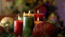 Christmas Candle Lights Table Decorations Ideas