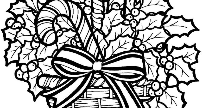 Christmas Clip Art Black White Merry