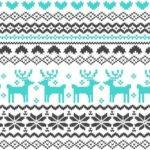 Christmas Knit Fabric Great Printable Calendars