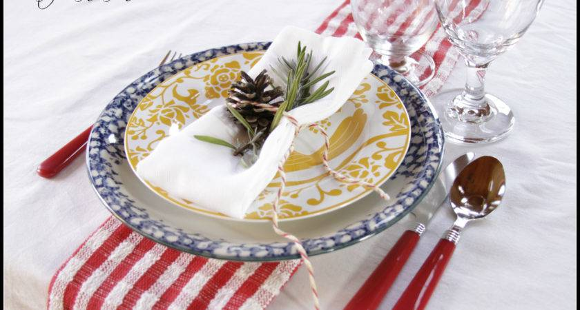 Christmas Place Settings Make Your Own
